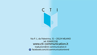 CTI - COMMUNICATION TREND ITALIA S.R.L.