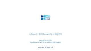 FARMACIA SALUS S.N.C. DI MANFREDI IUDICI + VI RACCONTIAMO DELLA FARMACIA SALUS S.N.C. DI MANFREDI IUDICI