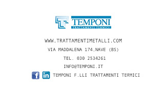 F.LLI TEMPONI TRATTAMENTI TERMICI S.R.L.