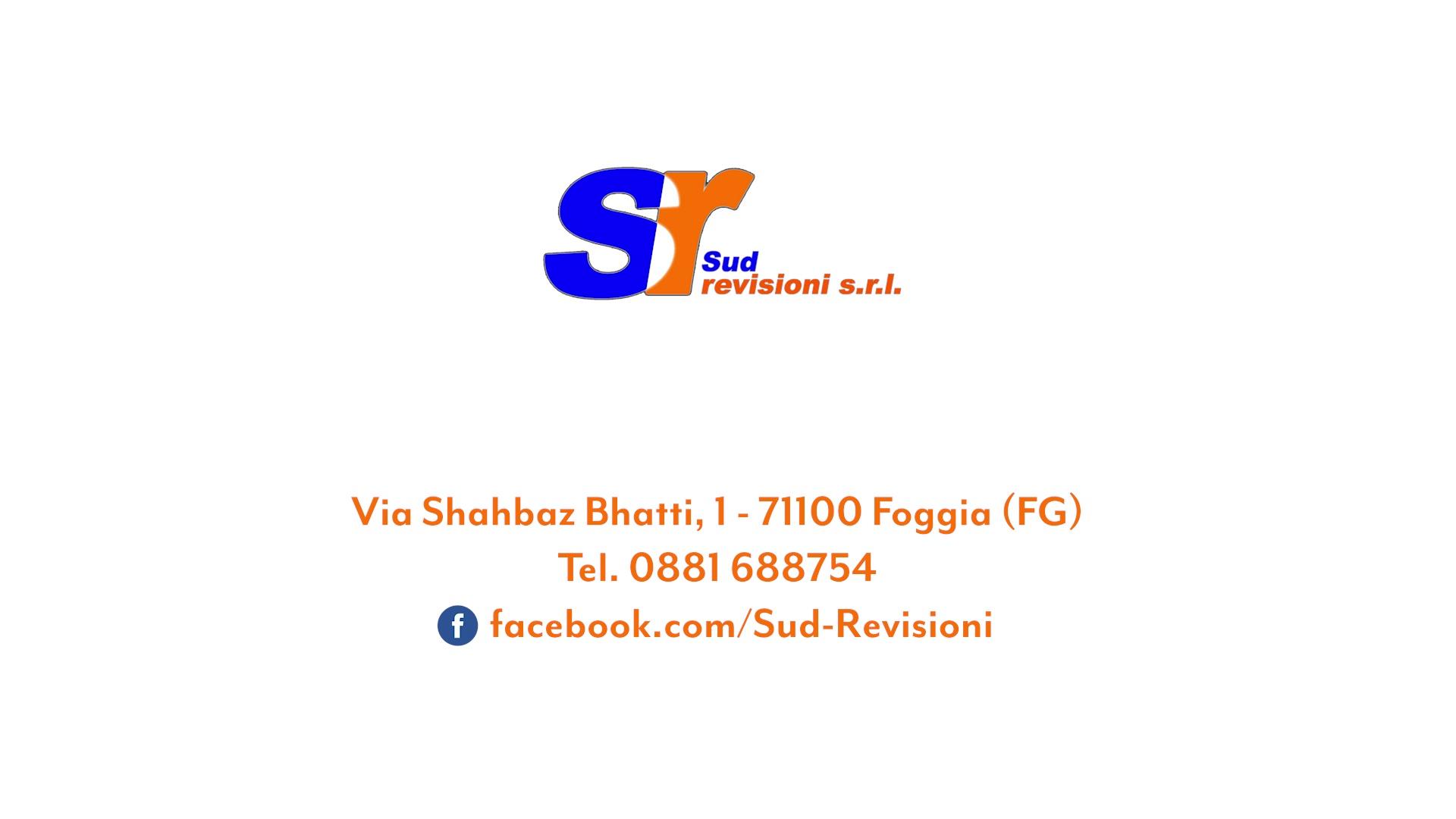 SUD REVISIONI S.R.L. + Foggia + Autorevisioni periodiche - officine abilitate